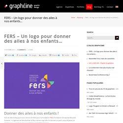 FERS - Un logo pour donner des ailes à nos enfantsGraphéine – Agence de communication Paris Lyon