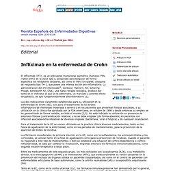 Revista Española de Enfermedades Digestivas - Infliximab en la enfermedad de Crohn