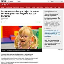 Las enfermedades que dejan de ser un misterio gracias al Proyecto 100.000 Genomas - BBC Mundo