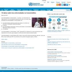 10 datos sobre las enfermedades no transmisibles