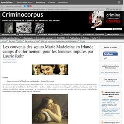 1922-1996 Irlande blanchisseries Madeleine