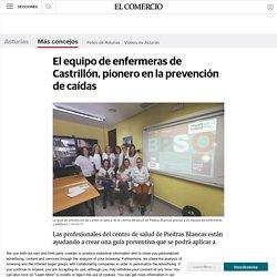 El equipo de enfermeras de Castrillón, pionero en la prevención de caídas