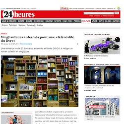 France: Vingt auteurs enfermés pour une «téléréalité du livre» - Vivre