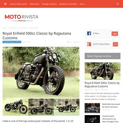 Royal Enfield 500cc Classic by Rajputana Custom Motorcycles