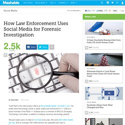 How Law Enforcement Uses Social Media for Forensic Investigation