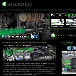 Night Vision, Green Lasers for Law Enforcement and Military | Laser Genetics