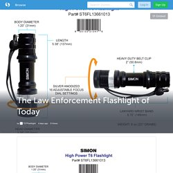The Law Enforcement Flashlight of Today (with image) · TSTFlashlight