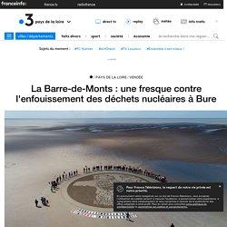 La Barre-de-Monts : une fresque contre l'enfouissement des déchets nucléaires à Bure - France 3 Pays de la Loire