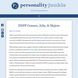 ENFP Careers, Jobs, & Majors