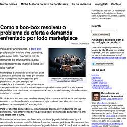 Como a boo-box resolveu o problema de oferta e demanda enfrentado por todo marketplace – Marco Gomes