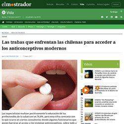 Las trabas que enfrentan las chilenas para acceder a los anticonceptivos modernos
