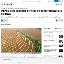 O Brasil pode enfrentar a crise econômica sem devastar a natureza