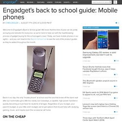 039;s back to school guide: Mobile phones