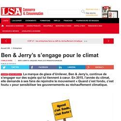 Ben & Jerry's s'engage pour le climat - Les dossiers LSA de la grande consommation