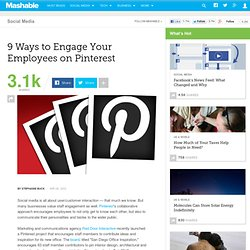 9 Ways to Engage Your Employees on Pinterest - Aurora