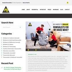 Do I Need to Engage Toowoomba Removalists for My House Move
