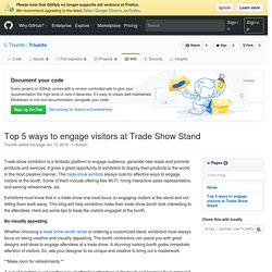 Searching For Trade Show Exhibits - Triumfo.us