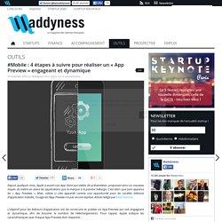 """#Mobile : 4 étapes à suivre pour réaliser un """"App Preview"""" engageant et dynamique"""
