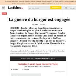La guerre du burger est engagée, Services - Conseil
