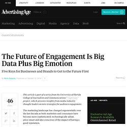The Future of Engagement Is Big Data Plus Big Emotion