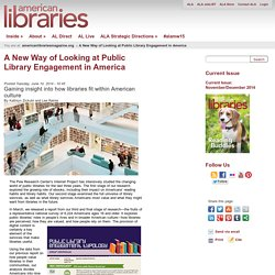 A New Way of Looking at Public Library Engagement in America