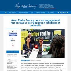 Avec Radio France pour un engagement fort en faveur de l'Éducation artistique et culturelle