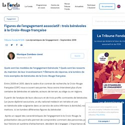Figures de l'engagement associatif : trois bénévoles à la Croix-Rouge française