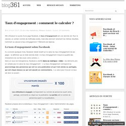 Taux d'engagement : comment le calculer ?
