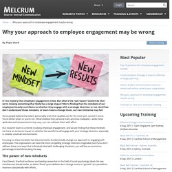 Why your approach to employee engagement may be wrong