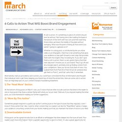 6 Calls to Action That Will Boost Brand Engagement
