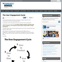 The User Engagement Cycle