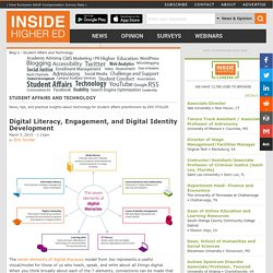 Digital Literacy, Engagement, and Digital Identity Development