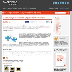Overdrive eMarketing Blog: Social Media Marketing