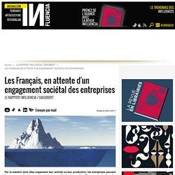 Les Français, en attente d'un engagement sociétal des entreprises