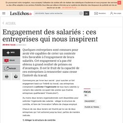 Engagement des salariés : ces entreprises qui nous inspirent