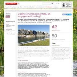 Un engagement de qualité environnementale à La Confluence