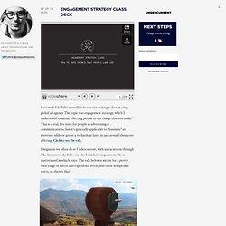 Engagement Strategy Class Deck