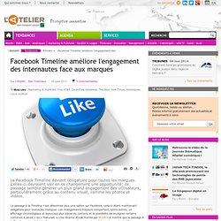 Facebook Timeline améliore l'engagement des internautes face aux marques