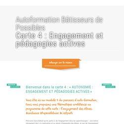 engagement et pédagogies actives - Réseau Bâtisseurs de Possibles