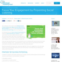 Focus Your Engagement by Pinpointing Social Listening