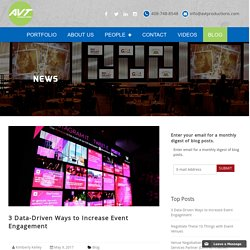 3 Ways to Increase Event Engagement