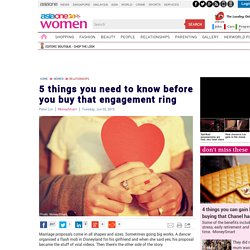 5 things you need to know before you buy that engagement ring, AsiaOne Women Relationships Lifestyle & News