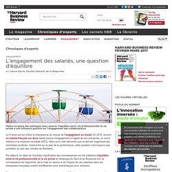 L'engagement des salariés, une question d'équilibre