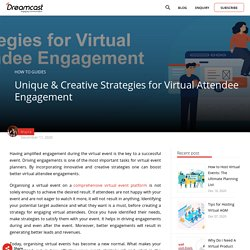 Virtual Event Engagement Strategies