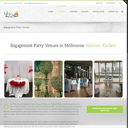 Engagement Party Venues in Melbourne at Waterfront