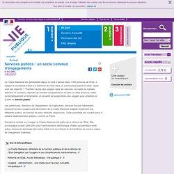 Service public, charte Marianne : un socle commun d'engagements. En bref - Actualités