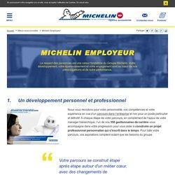 Engagements Michelin pour ses salariés : projet professionnel, formation …
