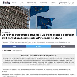 La France et d'autres pays de l'UE s'engagent à accueillir 400 enfants réfugiés suite à l'incendie de Moria