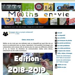 M@ths en-vie - Un projet collaboratif