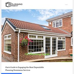 One's Guide to Engaging the Most Dependable Planning Permission Services
